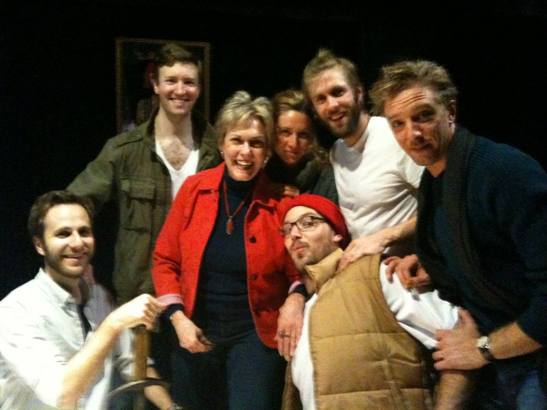 Off - Bway, Henry IV (1) with Matt, Cary, Kathleen, Jeff, Michael and Brendan