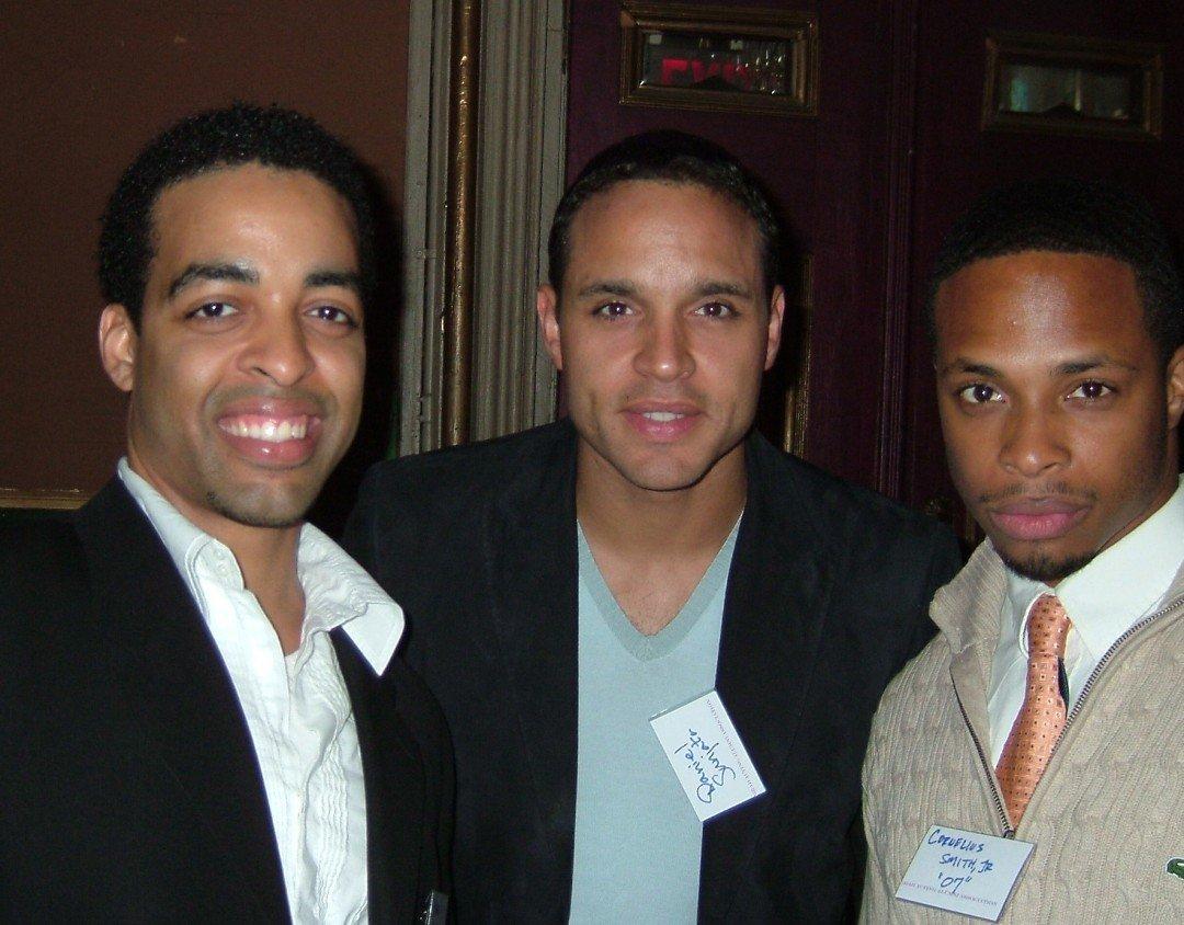 Rashaad Green, Dan Sunjata, Cornelius Smith, NYU Gala